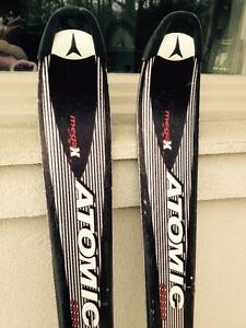 ATOMIC DOWHILL SKIS & BOOTS