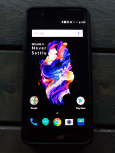 Unlocked Oneplus 5 128gb storage 8gb ram