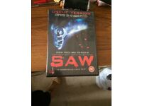 Saw DVD first one