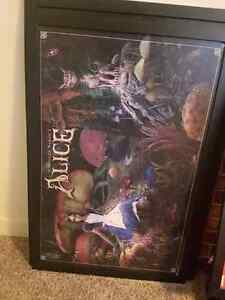 2 Alice in Wonderland pictures 42 inches