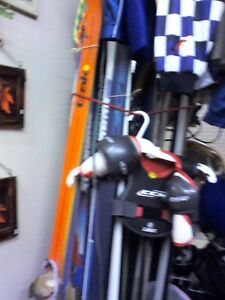 Ski  and Poles /HEARTBEAT Thrift Store/BayView Mall,Belleville