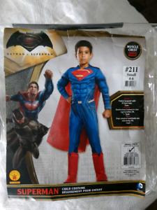 Child Batman and Superman Costume