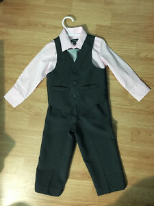 Toddler dress suits & shoes