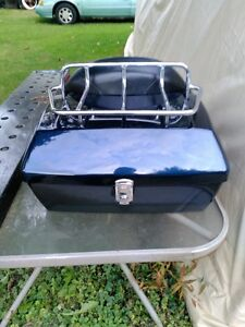 HARLEY DAVIDSON HD TOURING TRUNK WITH BACK REST AND RACK