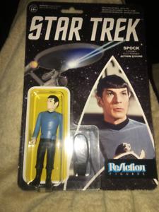 Star Trek Spock Re Action Figure NEW IN PACKAGING