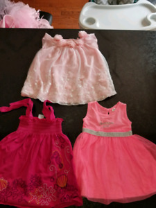 Baby girl summer dress 6-12m like a new