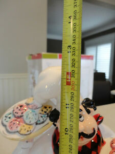 """Brand New Chef Ceramic Cookie Jar by American Atelier 12"""" tall Kitchener / Waterloo Kitchener Area image 4"""