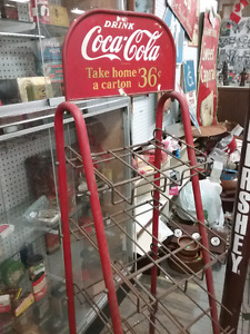 Advertising racks, tins,  collectibles, furniture + 1000 booths