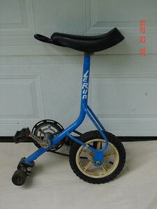 Le Run unicycle (well almost)