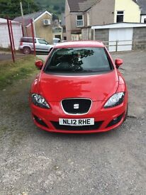 2012 seat Leon copa 1.6 diesel automotive