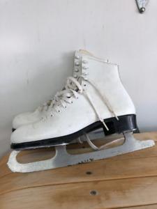 patin blanc pour femme Lange Classic grandeur 10