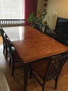DINING ROOM TABLE SET - Seats 8!
