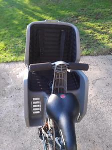 Kids rear mount bike seat