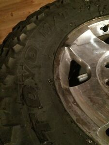 35x12.5R17LT Toyo open Country on Dodge 8 Bolt Rim Strathcona County Edmonton Area image 3