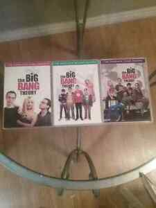 Big bang theory  seasons 1, 2, 3