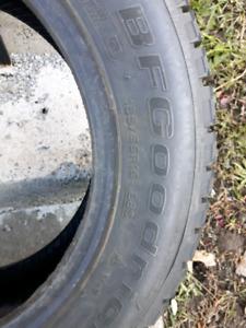 1 Used BF Goodrich Winter Slalom Winter Tire 185x65R15