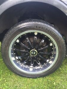 22 inch demoda rims and tires