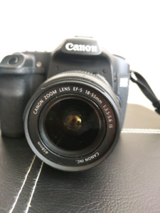 Canon EOS 50D w/ lens and extras
