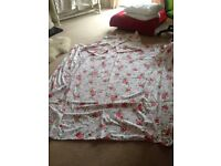 Double duvet cover with two pillow cases
