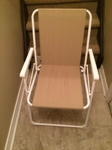 Foldable chair - very practical