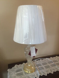 New 24% Lead Crystal Lamp