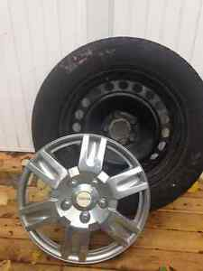 Federal Himalaya Winter Tires, Rims & Michelin Wheel Covers