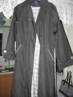 Authentic Burberry London Womens Trench Coat Jacket (XXL)