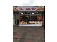 Pizza shop for sale in Liecester
