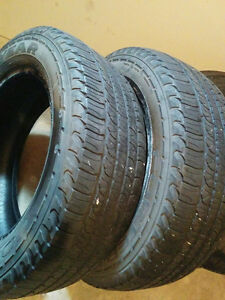 Goodyear Fortera H/L- 245/60/R18 - Good Tires Two left - $80 Windsor Region Ontario image 4