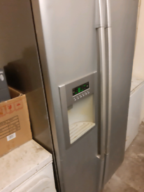 American style fridge freezer all in working except for ice maker £100