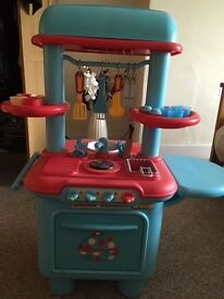 Tess Toys - ELC Early Learning Centre Sizzling Kitchens Either Red & Blue or Orange & Green £23 Each