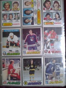 Vintage hockey cards for sale! 1977-78 Topps/OPC