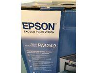Epsom pm240 photo printer