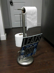 Toilet paper / magazine holder