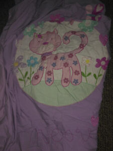 TWIN KITTY DUVET COVER