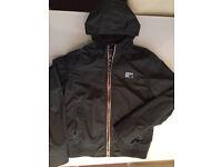 Superdry raincoat/ jacket xxl