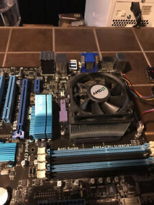 FX Quad core 3.8 Ghz , 16 GB RAM , Asus Motherboard for sale