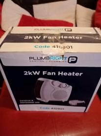 Fan Heater.