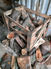Hardwood crates/Log storage/garden planters