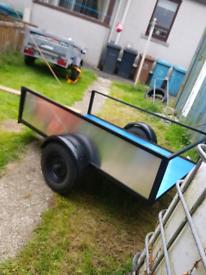 Rebuilt 7/4 trailer