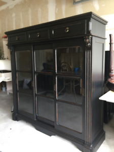 Beautiful Antique Dining Room Cabinet - Moving Sale