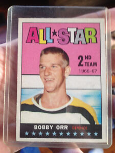 Lot of sports cards w Bobby Orr 2nd year all star London Ontario image 2