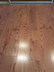 Hardwood Flooring =Oak  3/4 Inch
