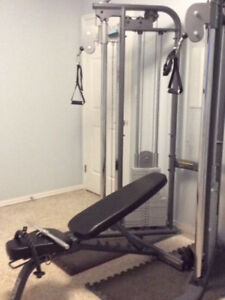 Precor cable gym GUC