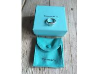 Genuine Return to Tiffany sterling silver ring
