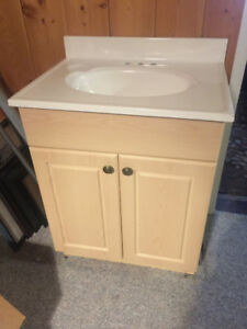"24"" bathroom vanity sink top only"