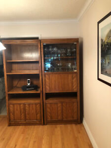 GORGEOUS OAK WALL UNIT