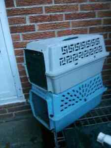 2 pet crates and a dog kennel London Ontario image 2