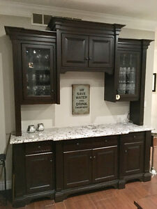 Custom made Maple Buffet/Hutch or Bar Kitchener / Waterloo Kitchener Area image 7