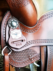 Selle de reining Continental Saddlery